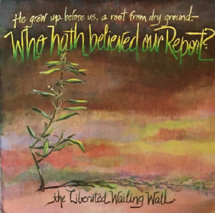 Liberated Wailing Wall (The) - Who Hath Believed Our Report?  (LP) (EX/VG-EX)